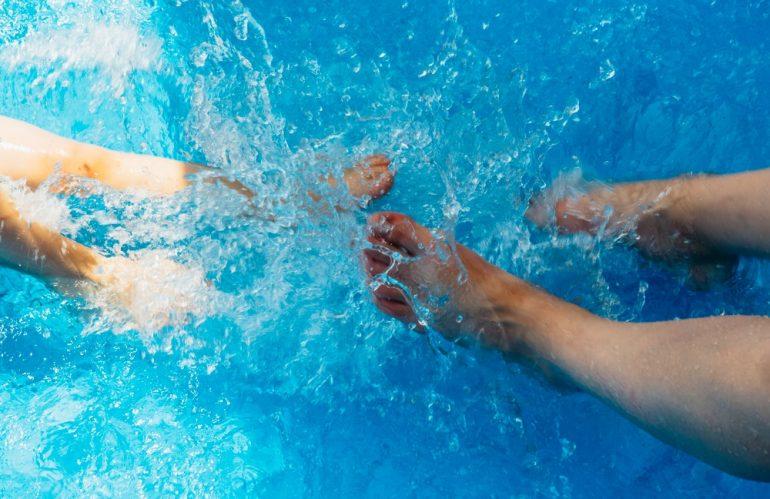 exercice dans spa & jacuzzi